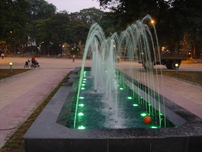 Mẫu đài phun nước đẹp