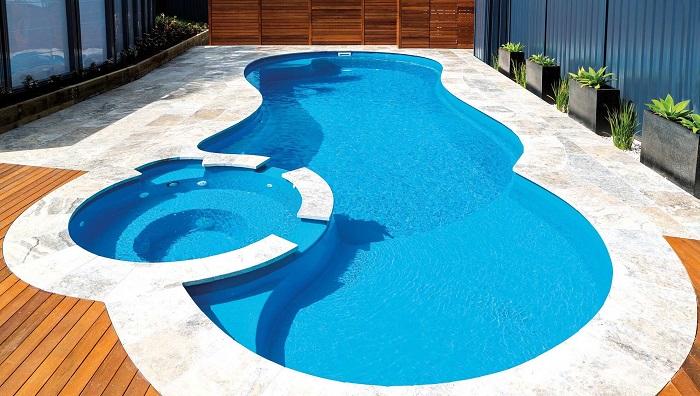 Mẫu hồ bơi mini gia đình tiện lợi