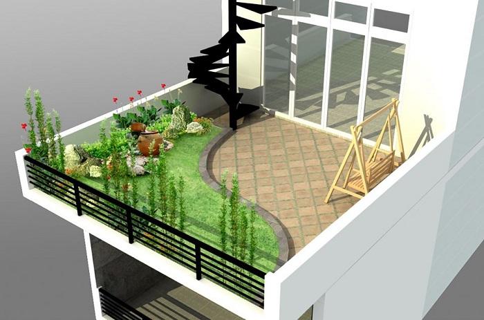 Đơn vị nào thiết kế thi công sân vườn