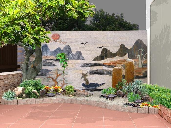 Đơn vị thiết kế sân vườn đẹp