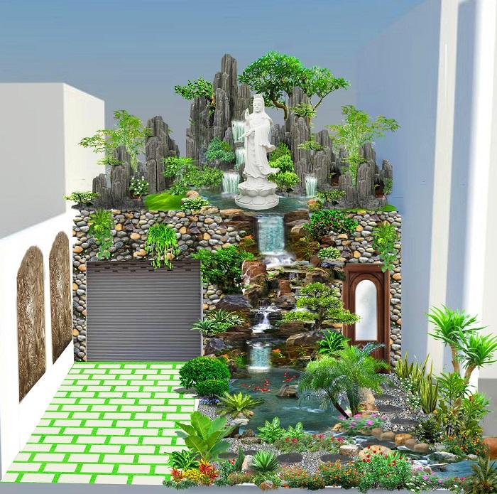 Có nên quan tâm tới yếu tố phong thủy khi thi công sân vườn?