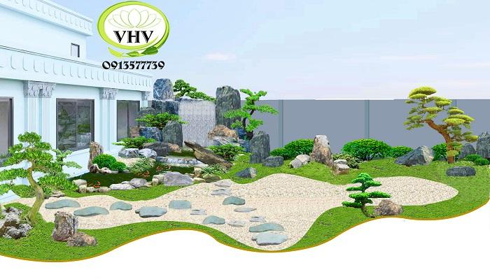 Cần chuẩn bị bao nhiêu chi phí thiết kế thi công sân vườn?