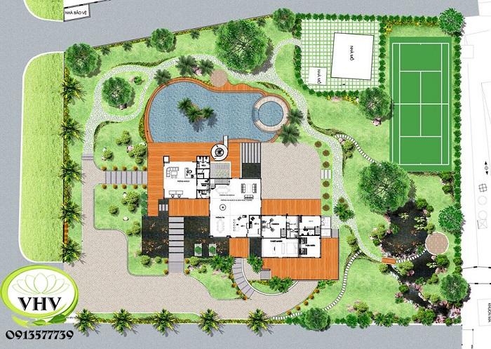 Tại sao giá thiết kế thi công sân vườn lại có sự chênh lệch giữa các công ty?