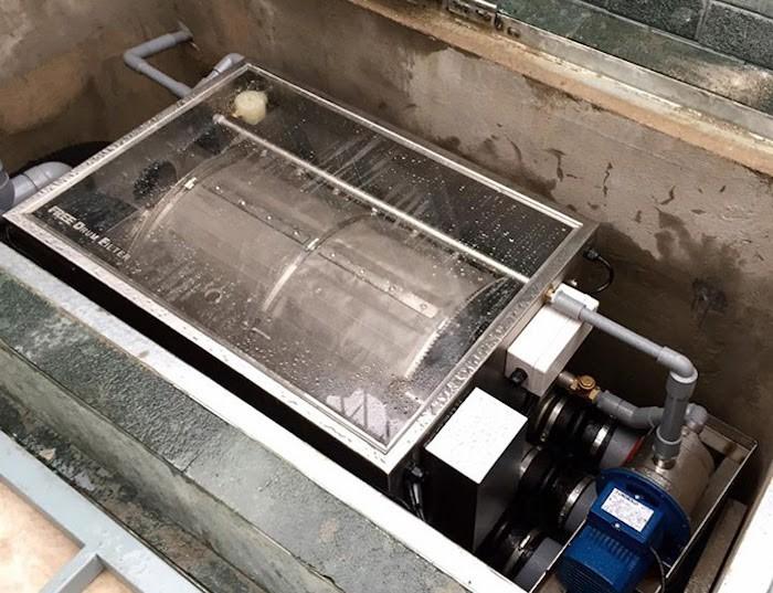 Máy lọc Drum Filter