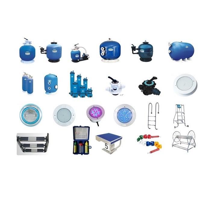 Những trang thiết bị cơ bản của một hồ bơi