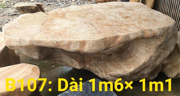 Bàn đá nguyên khối là gì?