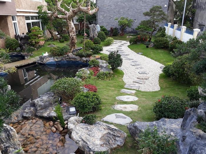 Nguồn đá chất lượng để làm cảnh quan sân vườn