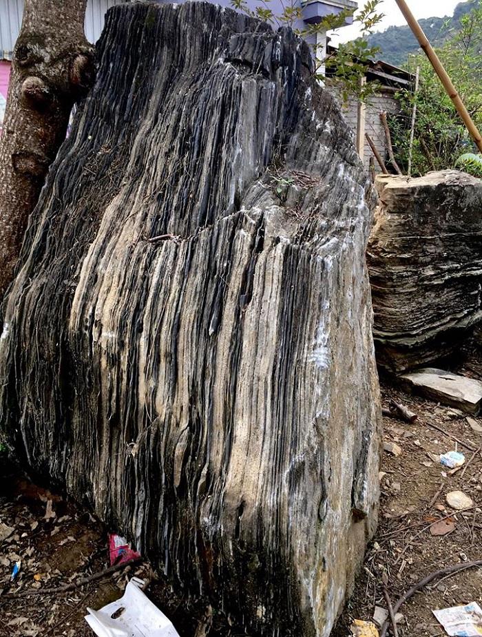 Hình ảnh của đá xếp lớp