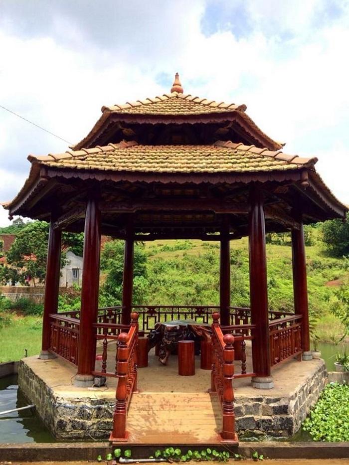 Công trình nhà chòi do Việt Hoa Viên thực hiện