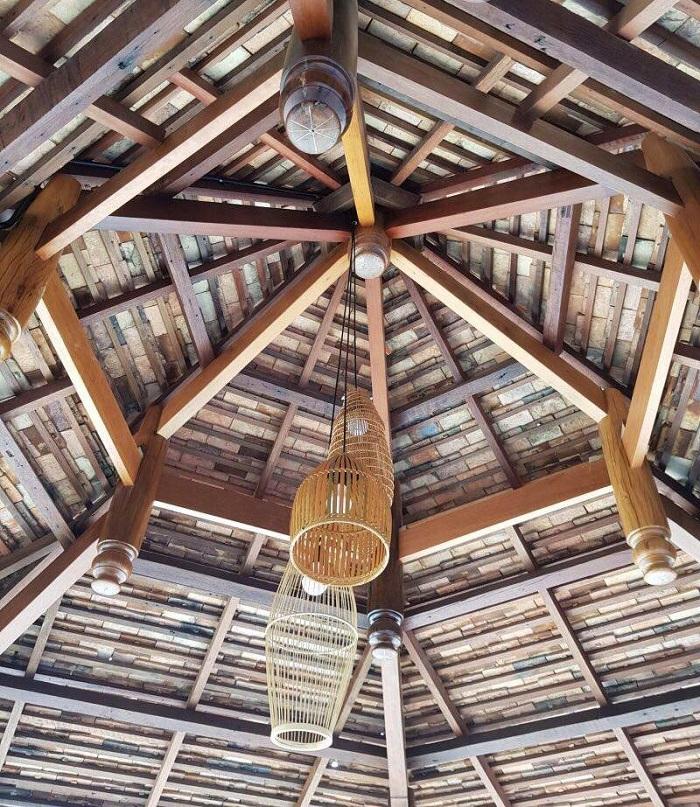Mẫu nhà chòi cực đẹp được làm 100% từ gỗ tự nhiên quý hiếm