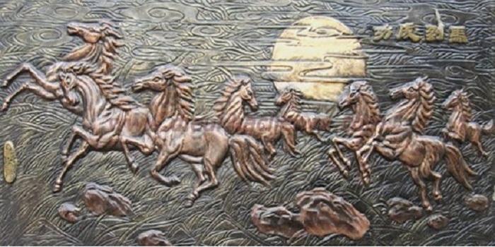 Mẫu tranh phù điêu bằng gỗ đẹp