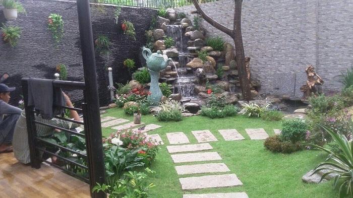 Công trình non bộ cho Anh Trịnh Đình Dũng - Bình Dương