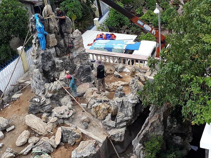 Việt Hoa Viên- Tư vấn, thiết kế, thi công hồ cá Koi lớn nhỏ theo yêu cầu