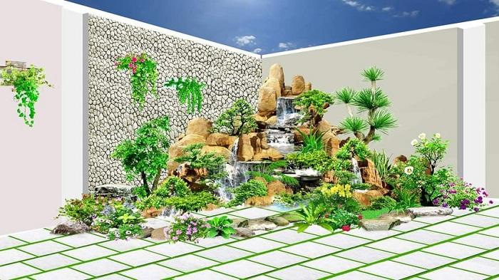 Nhiều mẫu thiết kế cảnh quan sân vườn đẹp