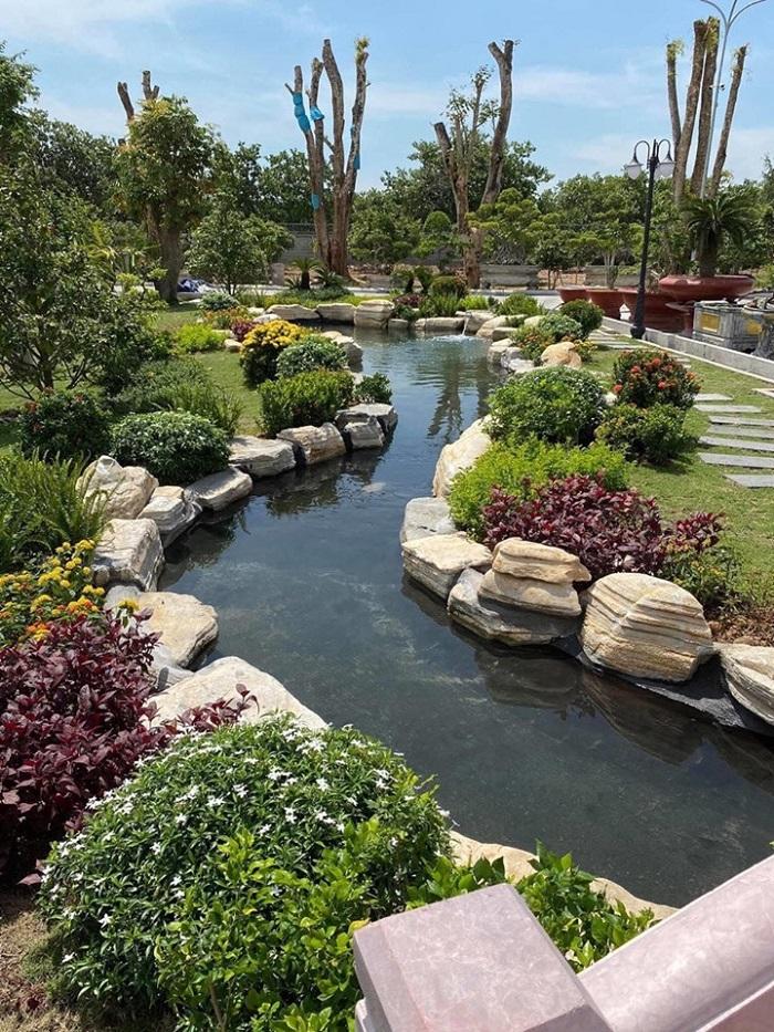 Coi trọng yếu tố phong thủy khi thi công cảnh quan sân vườn
