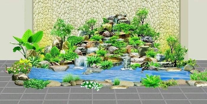 Mẫu thiết kế cảnh quan sân vườn hiện đại