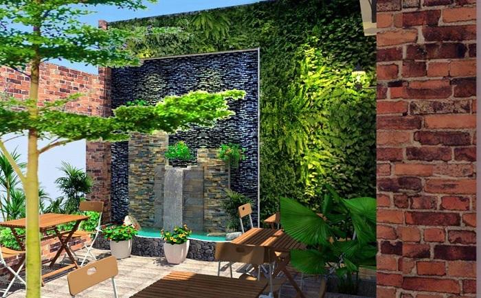 Mảng xanh cho sân vườn nhà