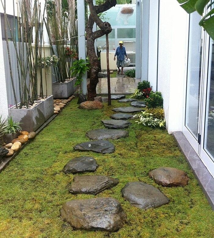 Công trình cảnh quan sân vườn đẹp tại Vũng Tàu